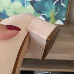 Zara Shoes - Zara Block Heel Shoes with Black Pointy Toe 39